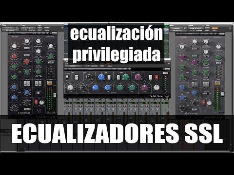 Cómo Utilizar los Ecualizadores SSL (G-EQ E-Channel y G-Channel) [ProduceAudio.net]