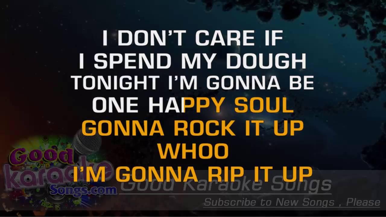 Rip It Up - Little Richard ( Karaoke Lyrics ) - YouTube
