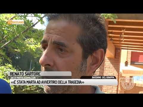 TG BASSANO (18/08/2017) - E' STATA MARTA AD AVVERTIRCI DELLA TRAGEDIA