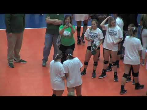 2019 GAC Volleyball Championship : Oklahoma Baptist Vs. Harding
