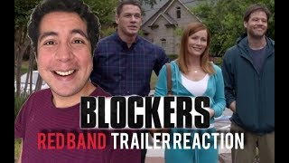 Blockers red band trailer #1 reaction