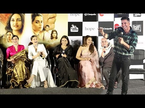 Akshay Kumar's Mission Mangal Movie Trailer Launch Complete Video HD wid Vidya Balan,Sonakshi Sinha