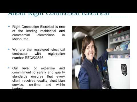 Electricians Near Me (Melbourne) - Right Connection Electrical