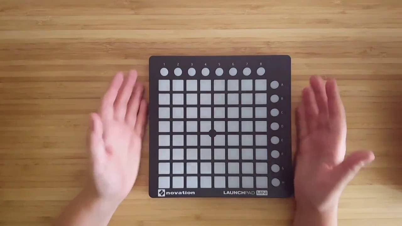 novation launchpad mini mk2 unboxing and review ita youtube. Black Bedroom Furniture Sets. Home Design Ideas