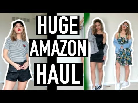 b0eb2e3a79 HUGE Trendy Amazon Clothing Try-On Haul! (Chifave) - YouTube