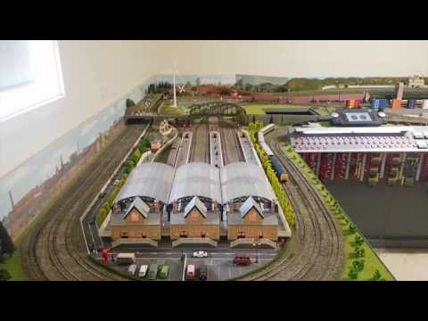 Hornby 00 Gauge – Model Railway Demonstration