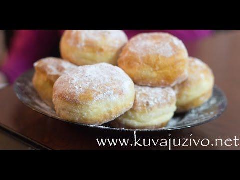 Krofne / Video recept - donuts