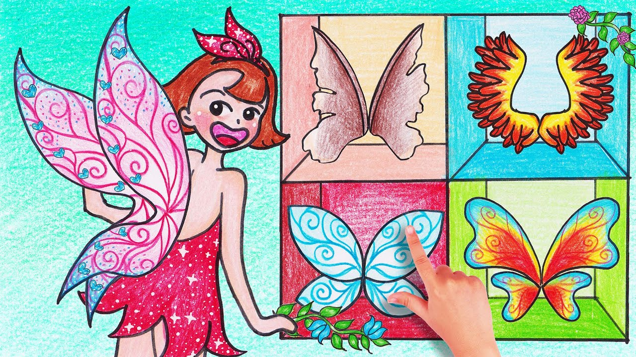 DIY Tinkerbell Fairy Wings - Stop Motion Paper