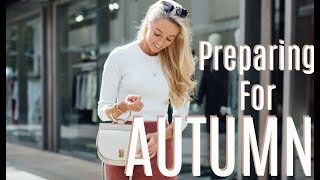 HOW I'M PREPARING MY WARDROBE FOR AUTUMN  // Clearout & More!  // Fashion Mumblr VLOG