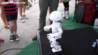 World Maker Faire 2014: Intel/Trossen JImmy Robot