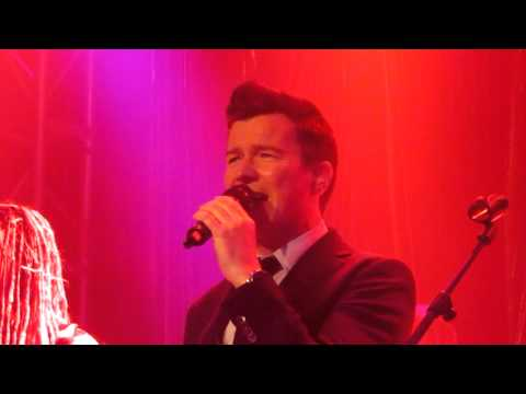 Rick Astley - It would take a strong strong man live in Islington.MOV