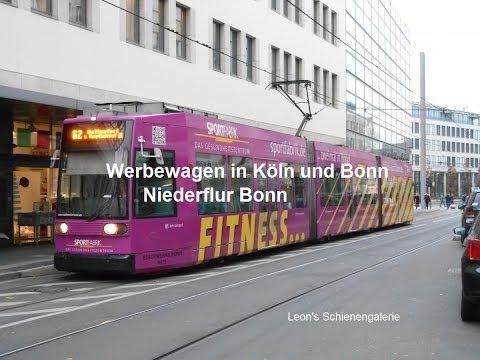 Werbewagen in Köln und Bonn #2 - Niederflur Bonn