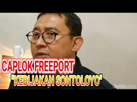 RI Caplok Saham Freeport, Fadli Zon Sebut Kebijakan Sontoloyo