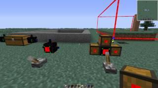 Часть 2: Роботы в майнкрафт 1.7.10 - Buildcraft 6.2.6(Извиняюсь за небольшие лаги, это связано с работой роботов. В этом видео рассказывается про планировщик..., 2014-12-23T17:11:53.000Z)