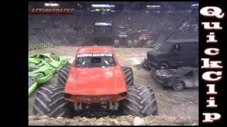 ActionTracks QuickClip - Ghost Ryder - Monster Truck Backflip - Monster X Tour - Cincinnati, OH