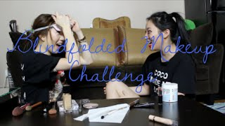 Blindfolded Makeup Challenge w/ MinsFAB Thumbnail