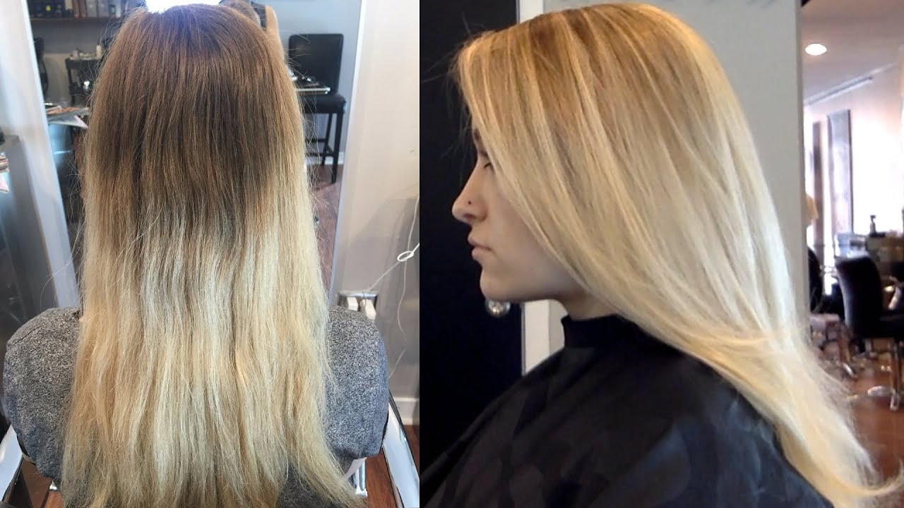 Balayage 101 // Step by Step DIY Highlights // Pro Hair Color ...
