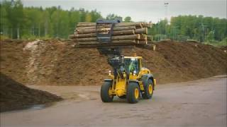 Volvo L110H - L120H Wheel loaders promotional video