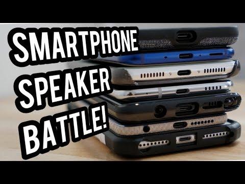 Smartphone Speaker Battle! Pixel 2 XL, iPhone 8 Plus, HTC u11, Note8, LG V30, Mate 9, Honor 8!