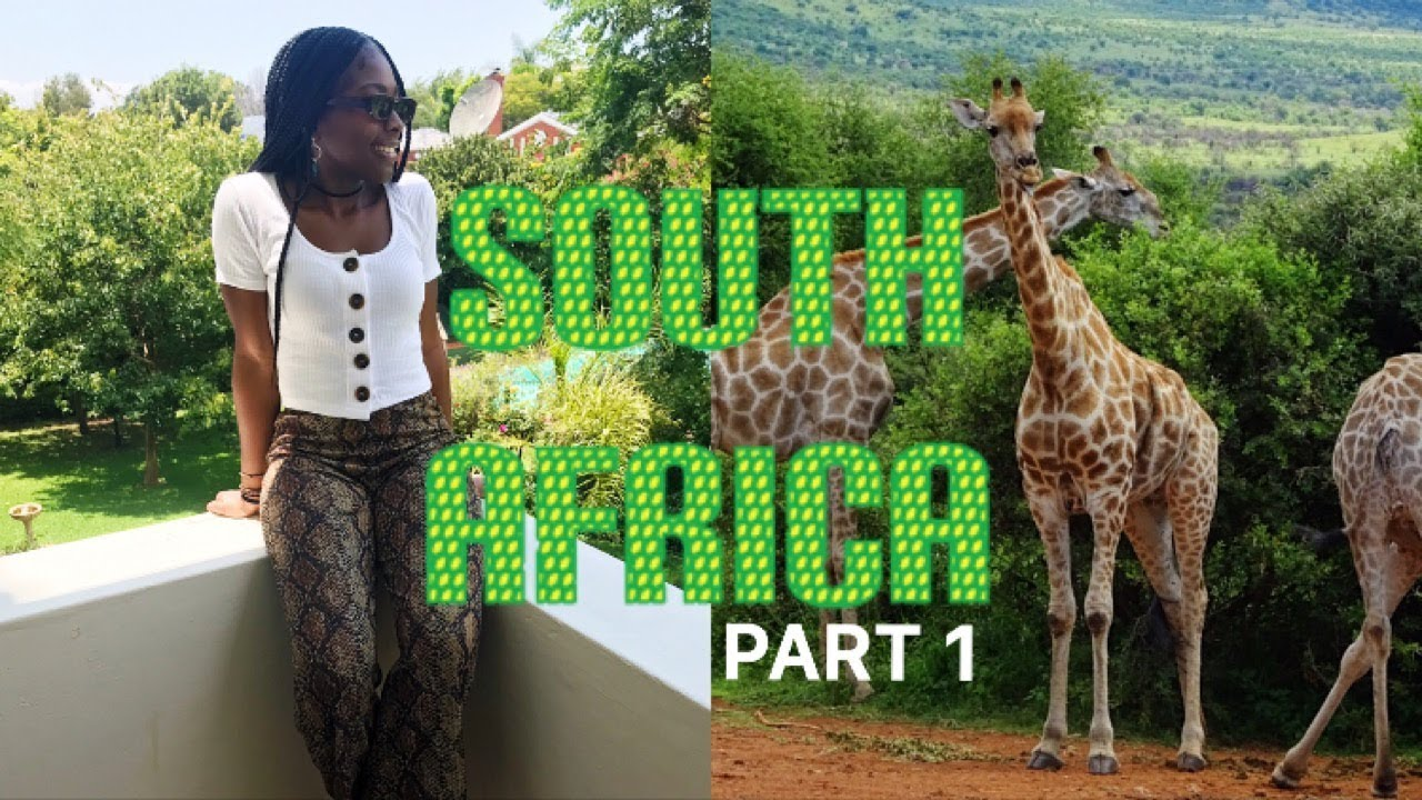 TRAVEL VLOG: SOUTH AFRICA PART 1 - JOHANNESBURG