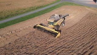 Soybean Harvest Begins
