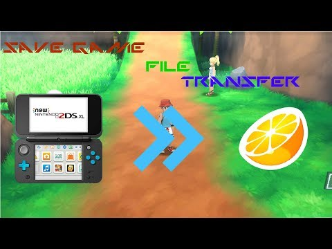 How To Export Any 3DS Save Game File To The Citra Emulator CFW