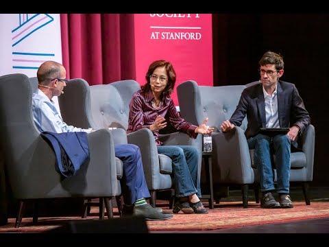 Yuval Noah Harari in Conversation with Fei-Fei Li, Moderated by Nicholas Thompson