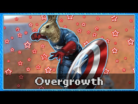 CAPTAIN AMERICA SIMULATOR - Overgrowth Mods (Arcade Crowd)