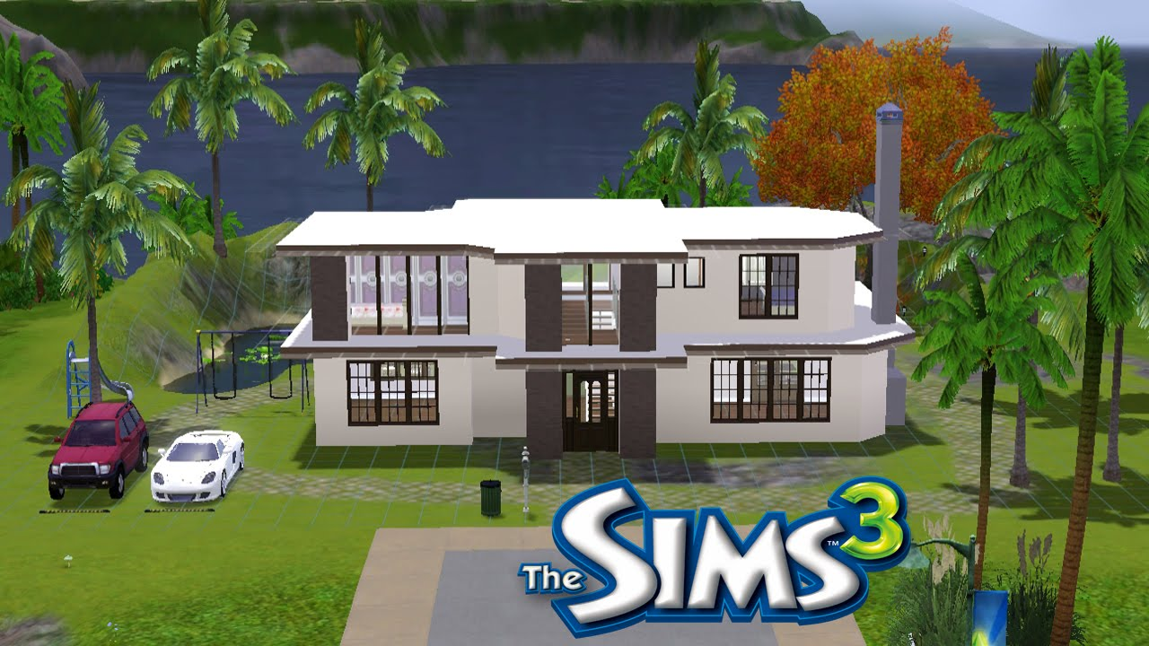 The sims 3 construindo uma casa grandiosa youtube for Casa moderna los sims 3
