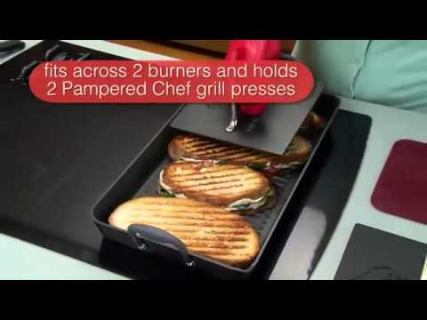 Pampered Chef Double Burner Grill YouTube
