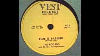 The Rodans - Time Is Passing 78 rpm!