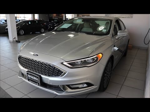 2017 Ford Fusion Energi Platinum In-Depth Tour