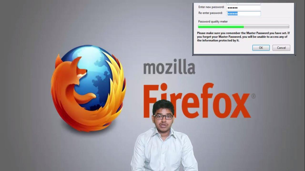 Master Passwort Firefox