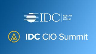 Join us for the 2021 IDC European CIO Summit!