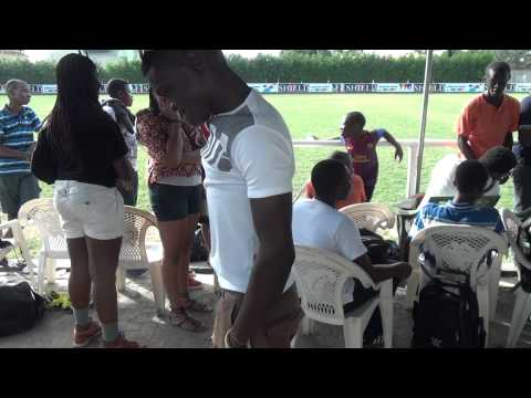 Azonto On The Sidelines. One World Soccer Game. AfaduSports Video Information