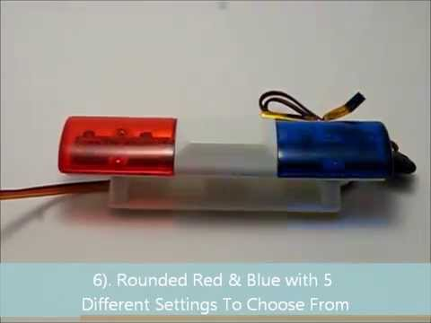 Sample of rc 110 scale police lights led bar youtube sample of rc 110 scale police lights led bar aloadofball Images