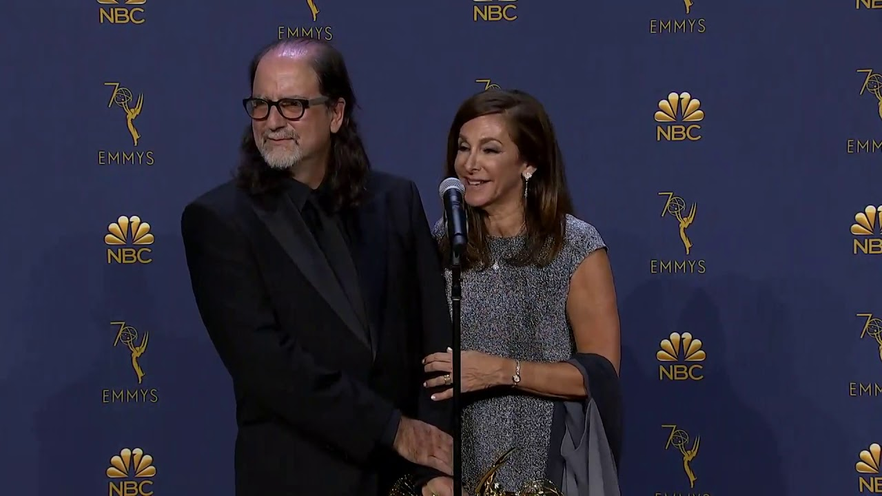 Emmys Proposal - Glenn Weiss & Fiancé - Full Backstage Q&A