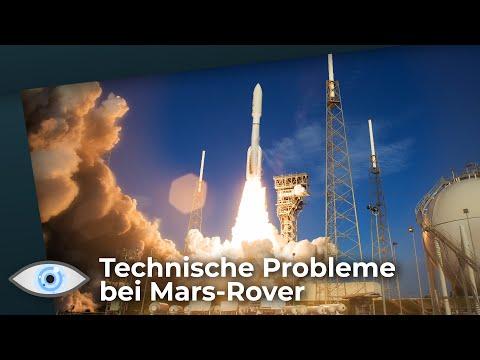 Mars-Mission: Rakete hat technische Probleme - Entdeckt Mars-Rover außerirdisches Leben?