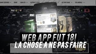 FIFA 18 - L'Erreur à Ne Pas Faire Lors De La Sortie Du Jeu !!!