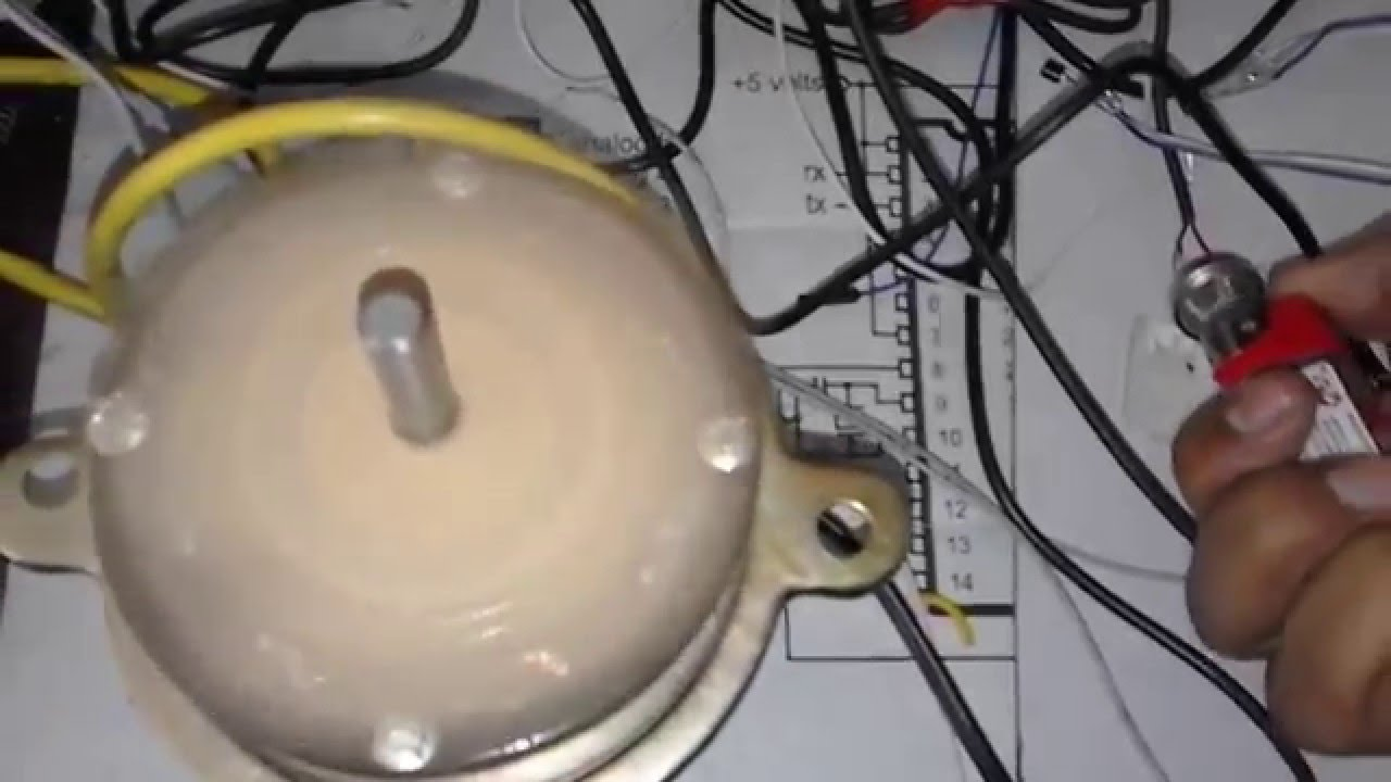 BI DIRECTIONAL AND SPEED CONTROL OF AC MOTOR USING ARDUINO YouTube