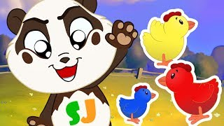 Panda Bo brings the lost Chicks back to her Mom - Fun Animation for Kids