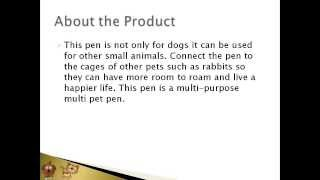 Midwest Exercise Pen Review Article | Buy At Petproductsonline.info | Buy Usa!