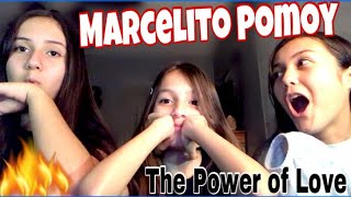 Marcelito Pomoy | The Power of Love ❤️ Wish 107.5 | REACTION!!!!!