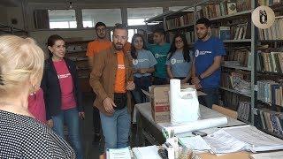 РАУ подарил книги сельским школам Армении
