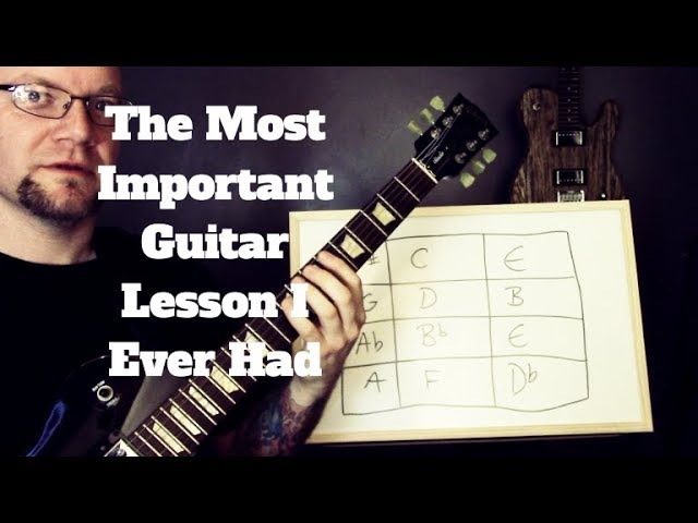 The Most Important Guitar Lesson I Ever Had - Learn Every Scale In Every Position