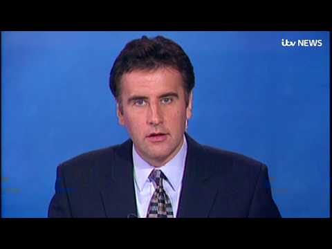 How ITV News announced Princess Diana's death in 1997