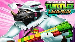 Черепашки Ниндзя Легенды СОСТАВЫ ОТ ПОДПИСЧИКОВ качаем РОКСТЕДИ КРОЛИК игра мультик TMNT Legends