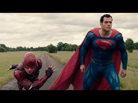 Race Flash vs Superman  Justice League
