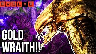 GOLD WRAITH!! Evolve Gameplay Walkthrough - Multiplayer - Part 33!! (XB1 1080p HD)