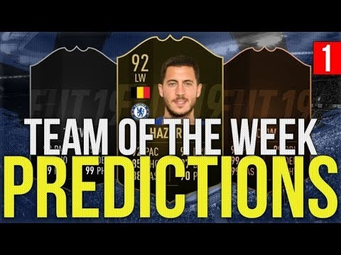 INSANE TOTW 1 PREDICTIONS!  via @YouTube#FIFA19webapp #FIFA19 #FIFA19Demo - FestivalFocus